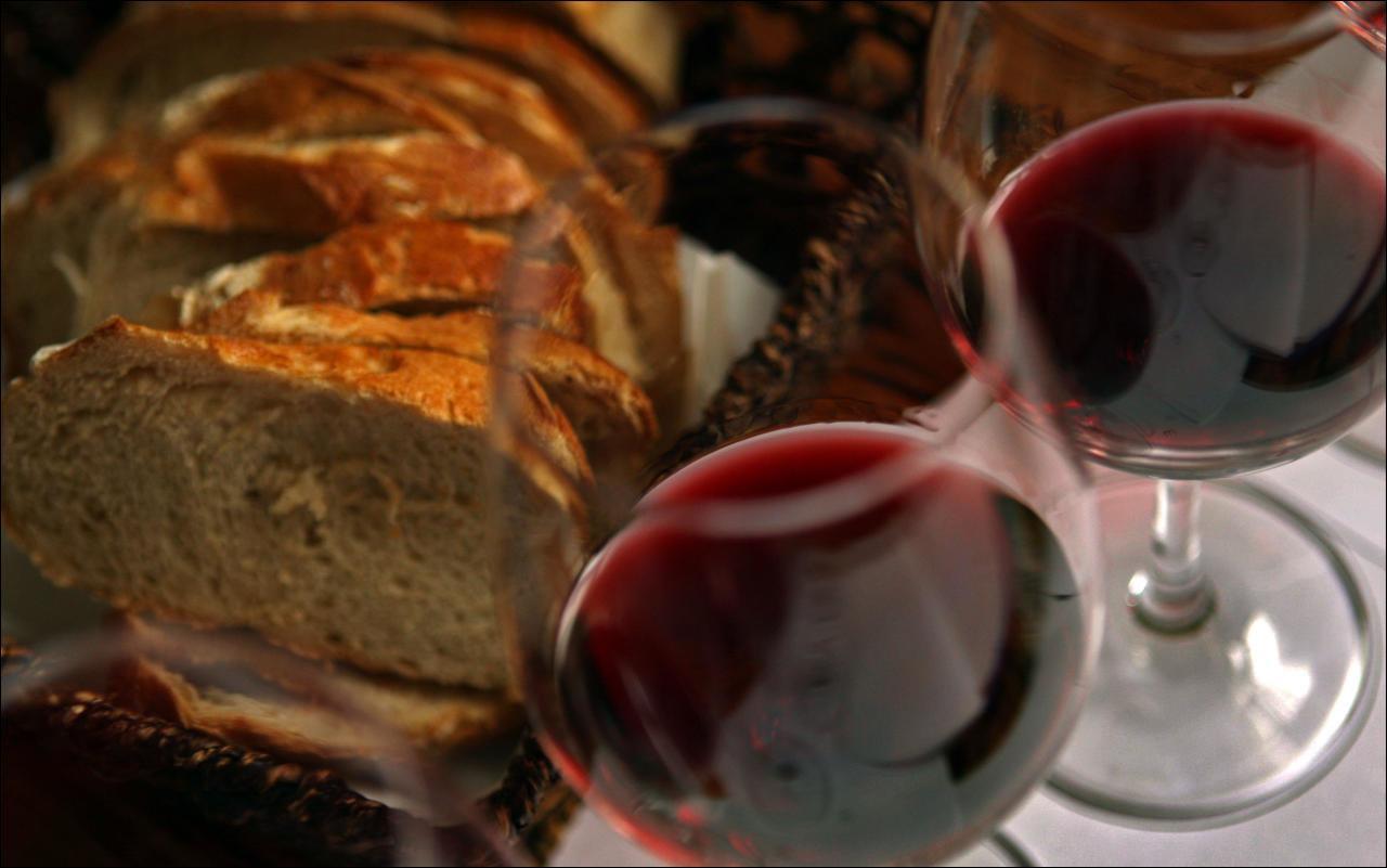 Ein Glas Wein muss sein