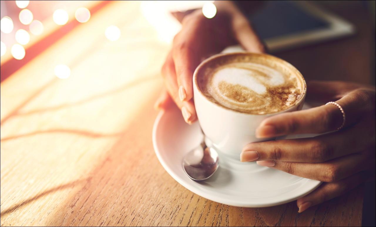 Kaffee entwässert den Körper