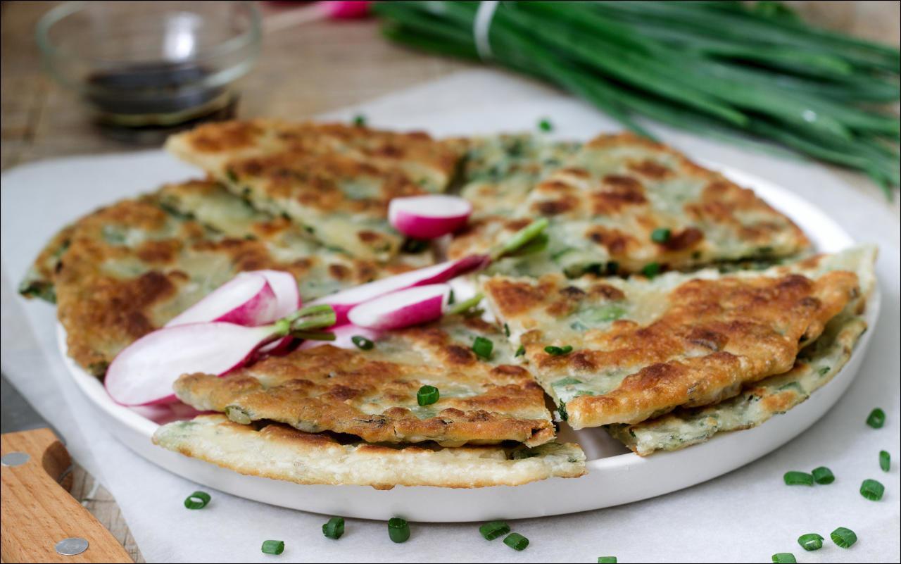 Omelette mit Radieschen