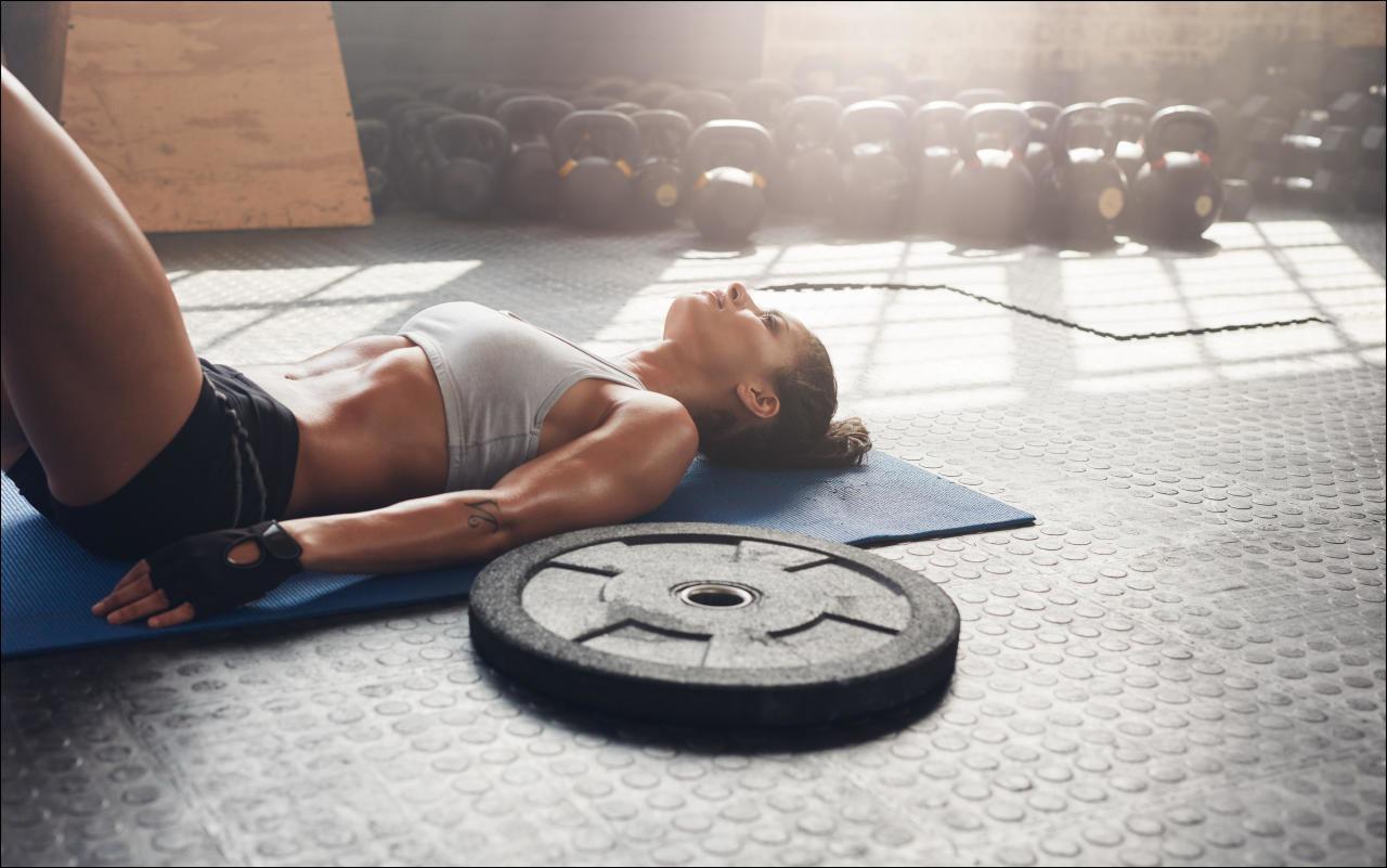 Auch TrainingsPausen machen den Körper fit