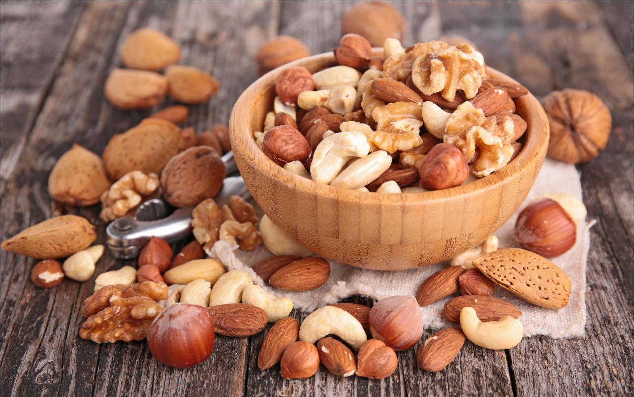 Nüsse sind Schlankmacher