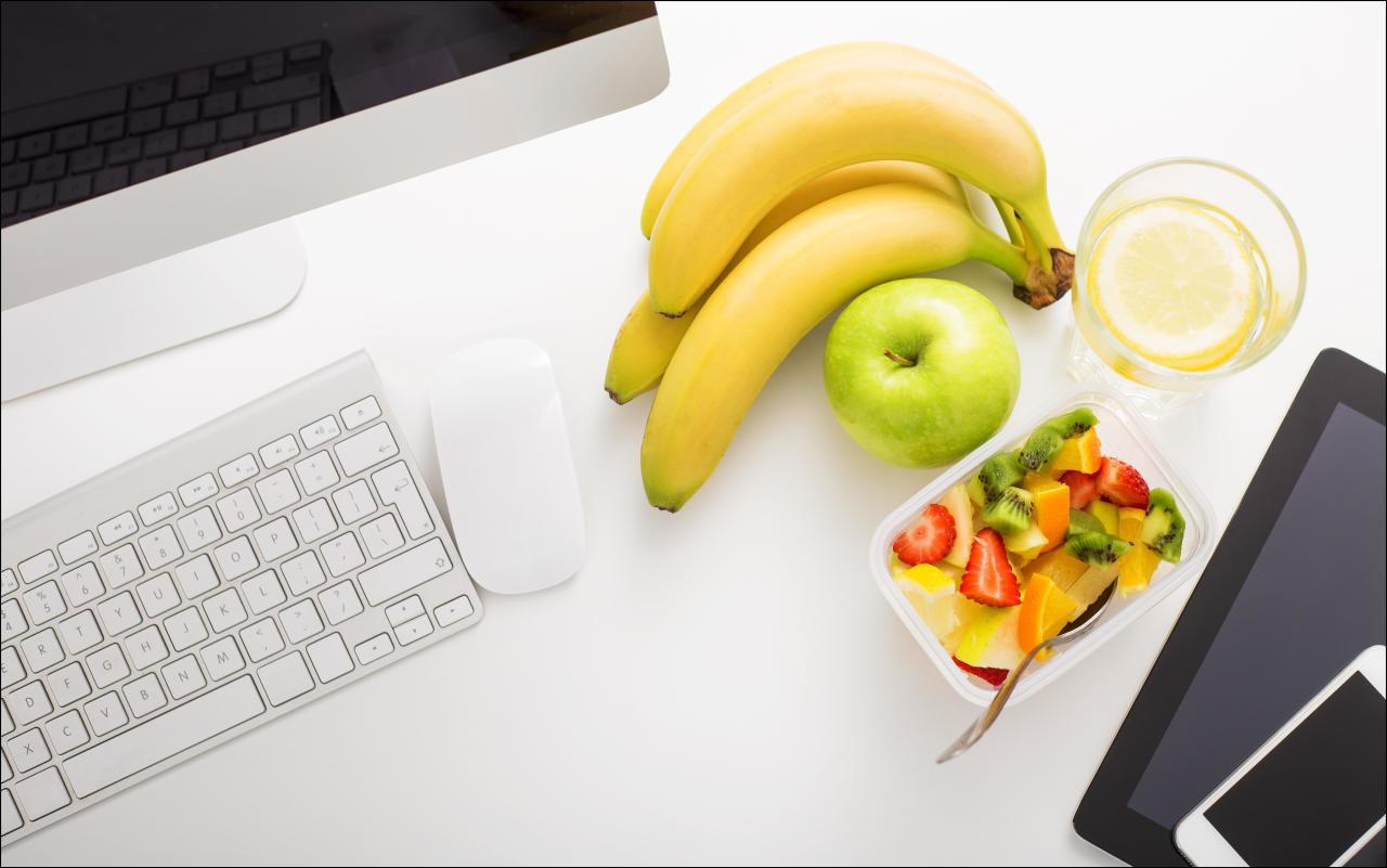 Schlank im BüroAlltag 10 Tricks