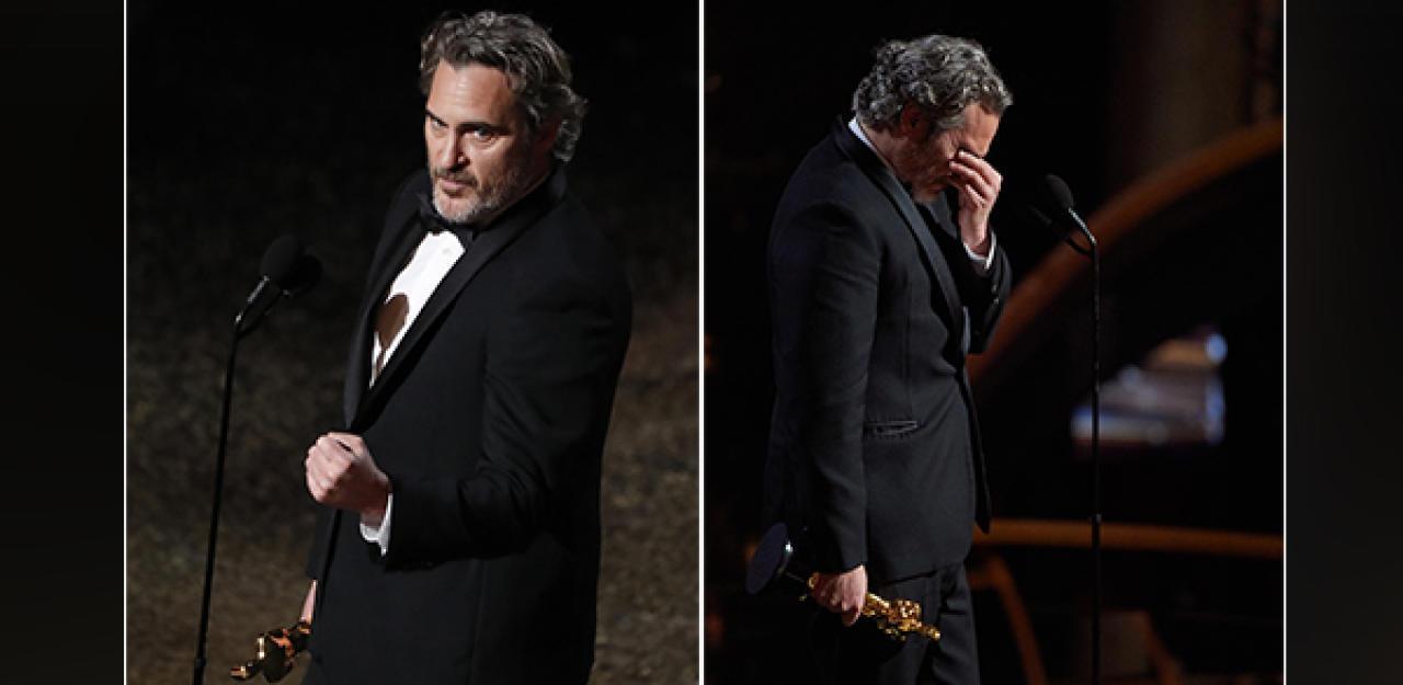 Joker Phoenix plädiert bei Oscars für Tierrechte