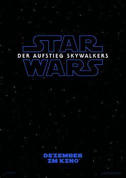 Star Wars Der Aufstieg Skywalkers Poster