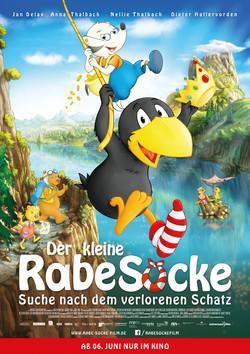 Der Kleine Rabe Socke 3  Suche nach dem verlorenen Schatz Poster